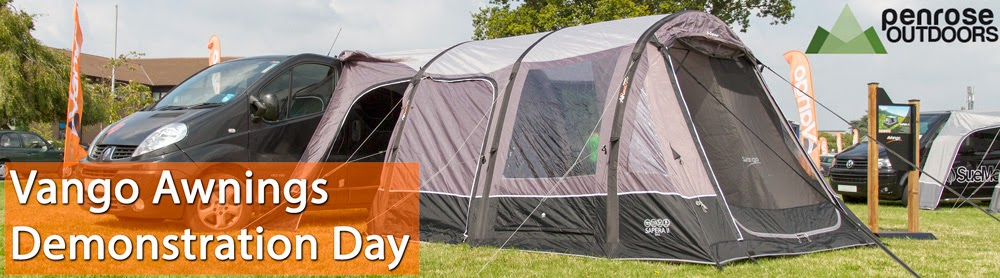 Vango AirAway Awnings Demo Day
