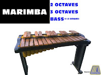 AFFORDABLE MARIMBA MADE WITH WOOD AND BAMBOO