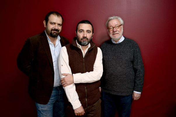 Director y productores de Return to Homs