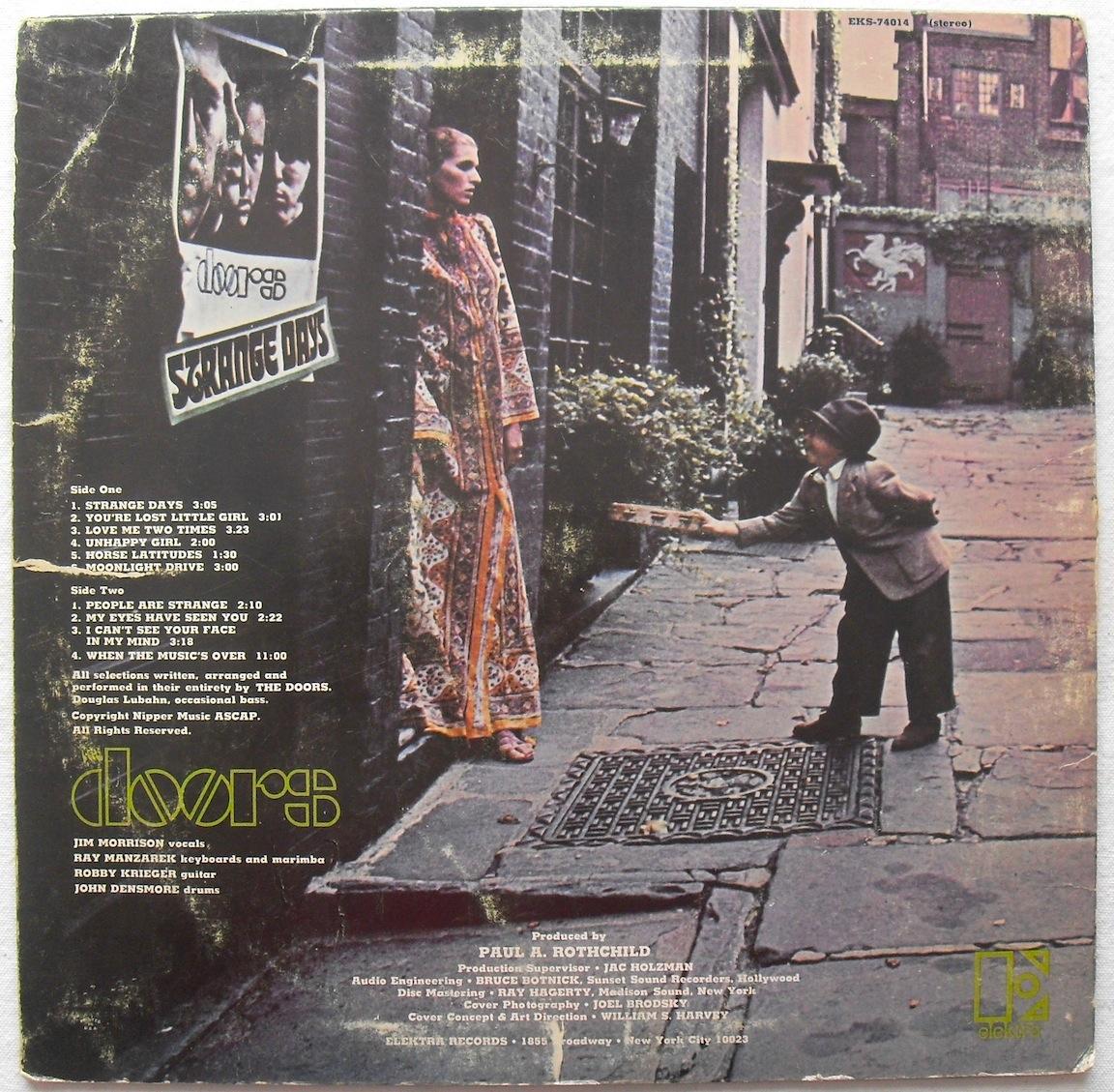 Doors Strange Days Album Cover 1152 x 1129