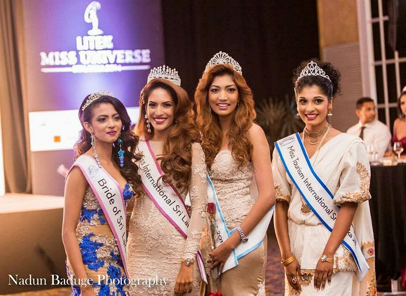 Miss Universe Sri Lanka 2014 winner Avanti Marianne Page