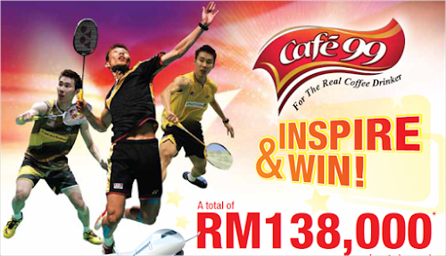 Cafe 99 'Inspire & Win' Contest