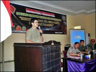 Menwa Mahabanten Menyelenggarakan Seminar Nasional Aktualisasi Pancasila