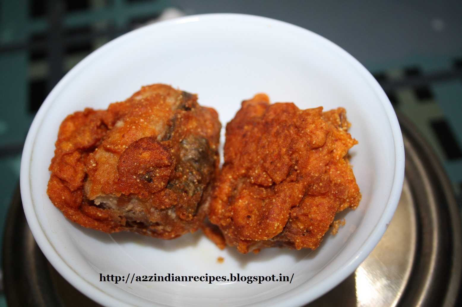 A2zindianrecipes dried salty king fish fry for King fish recipe