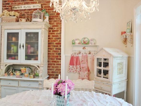 Decora y disena dise o vintage de la cocina m s dulce - Muebles de cocina estilo retro ...