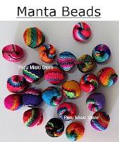 Inca manta beads