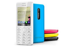 harga Nokia Asha 206 dual SIM, spesifikasi Nokia Asha 206 lengkap dan detail, gambar foto hp Nokia Asha 206 terbaru