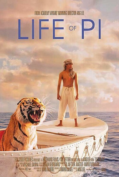 life of pi movie, lee ang
