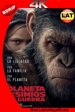 El Planeta De Los Simios: La Guerra (2017) Latino Ultra HD BDRip 4K 2160p ()