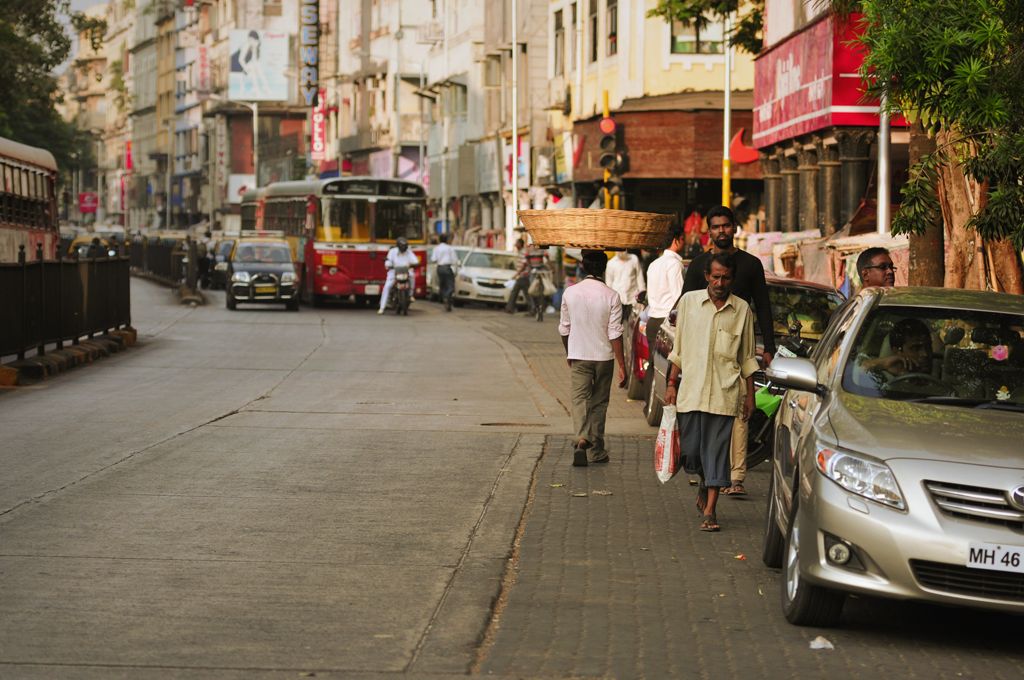 Picture from Colaba in Mumbai