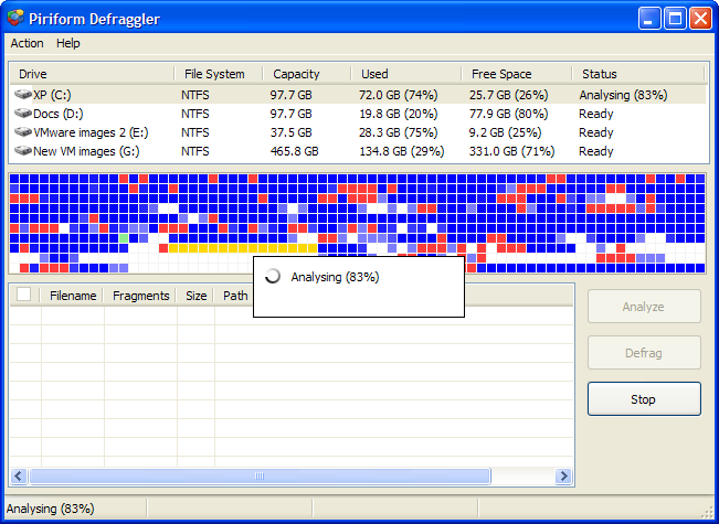 Defraggler 2.17  Full Program İndir