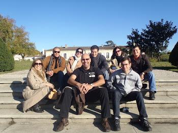 Grupo de Sommeliers en Chateau Magnol