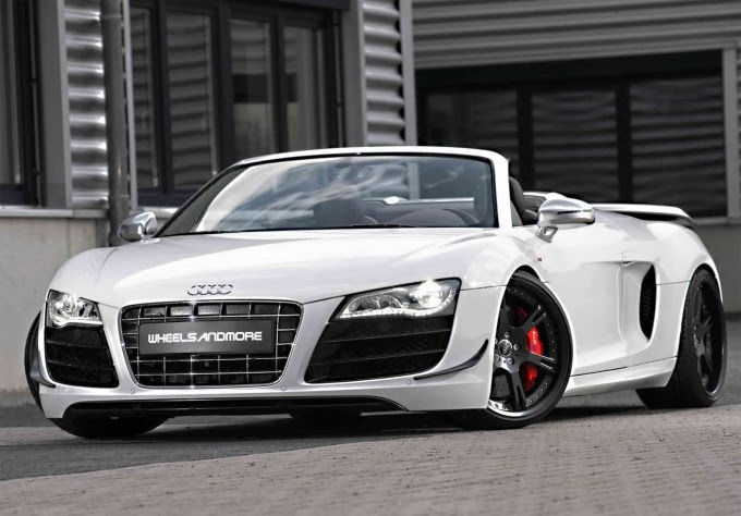 Audi R8 Wallpaper White