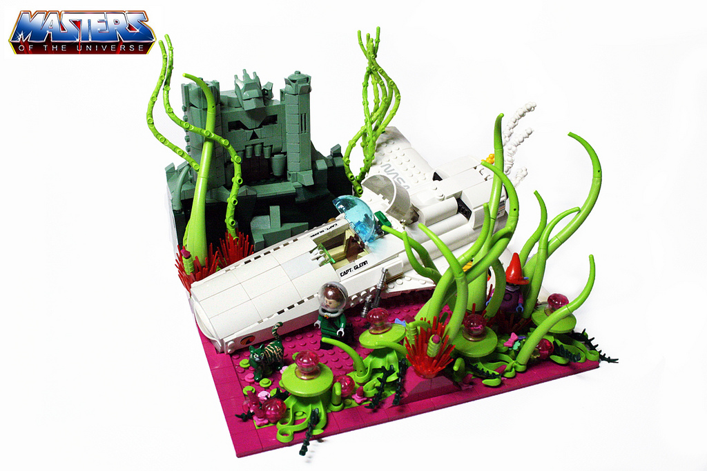 by castle greyskull made in lego by alex jones the lego minifigs are