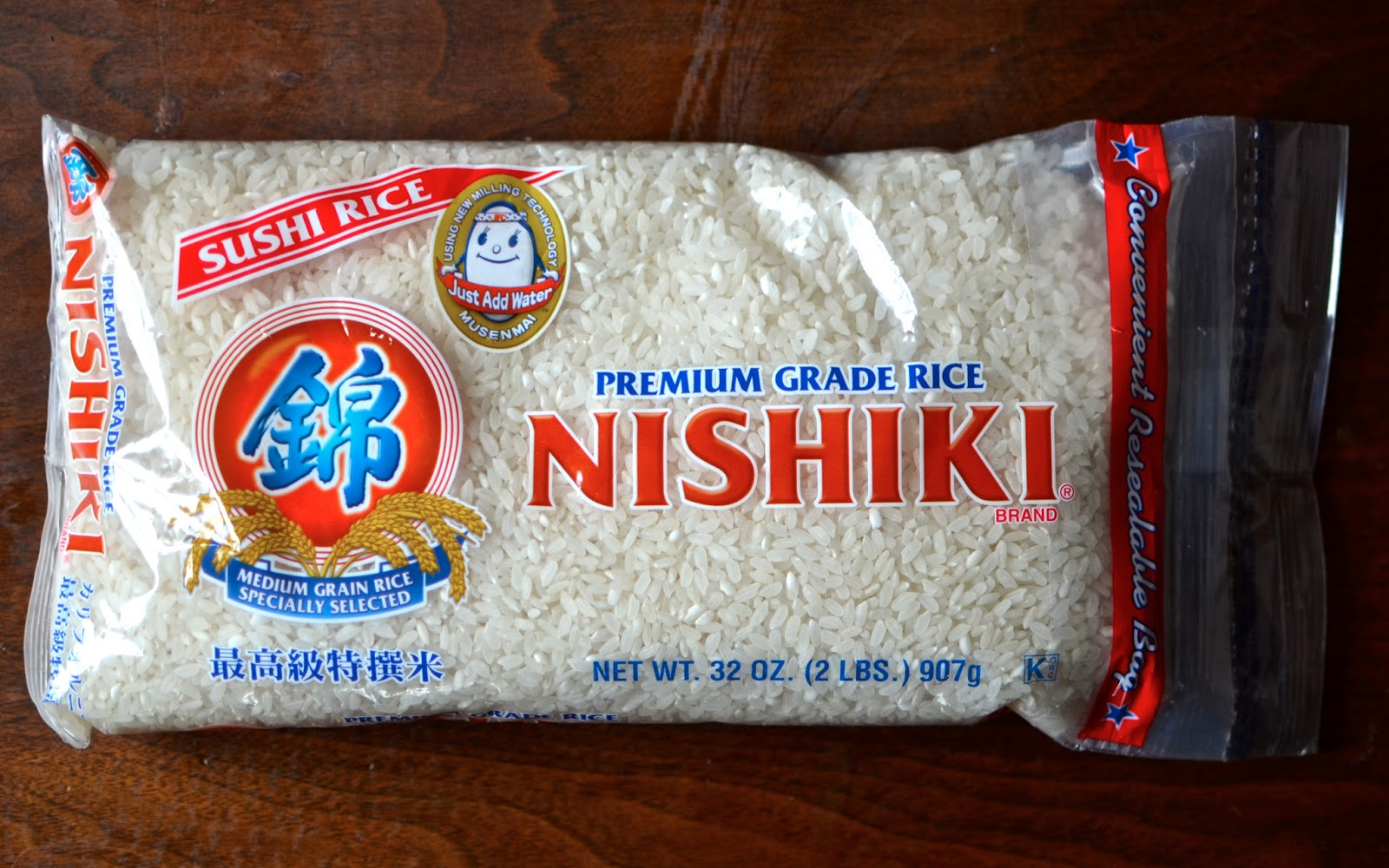 What rice is needed for sushi 17