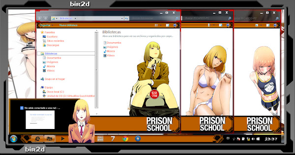 Hana / Prison School ( WINDOWS 7 ) 3