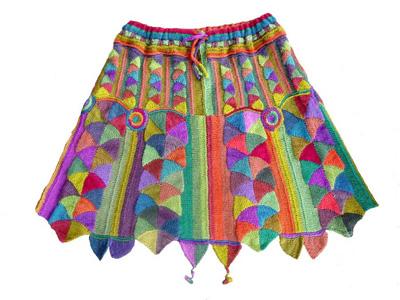 Selvage Blog Entrelac Knitting