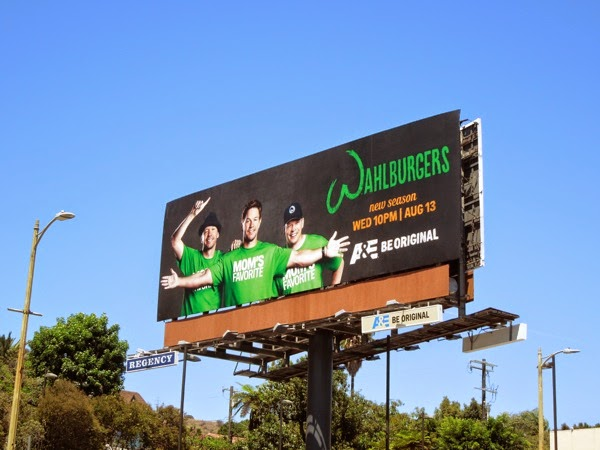 Wahlburgers season 2 billboard