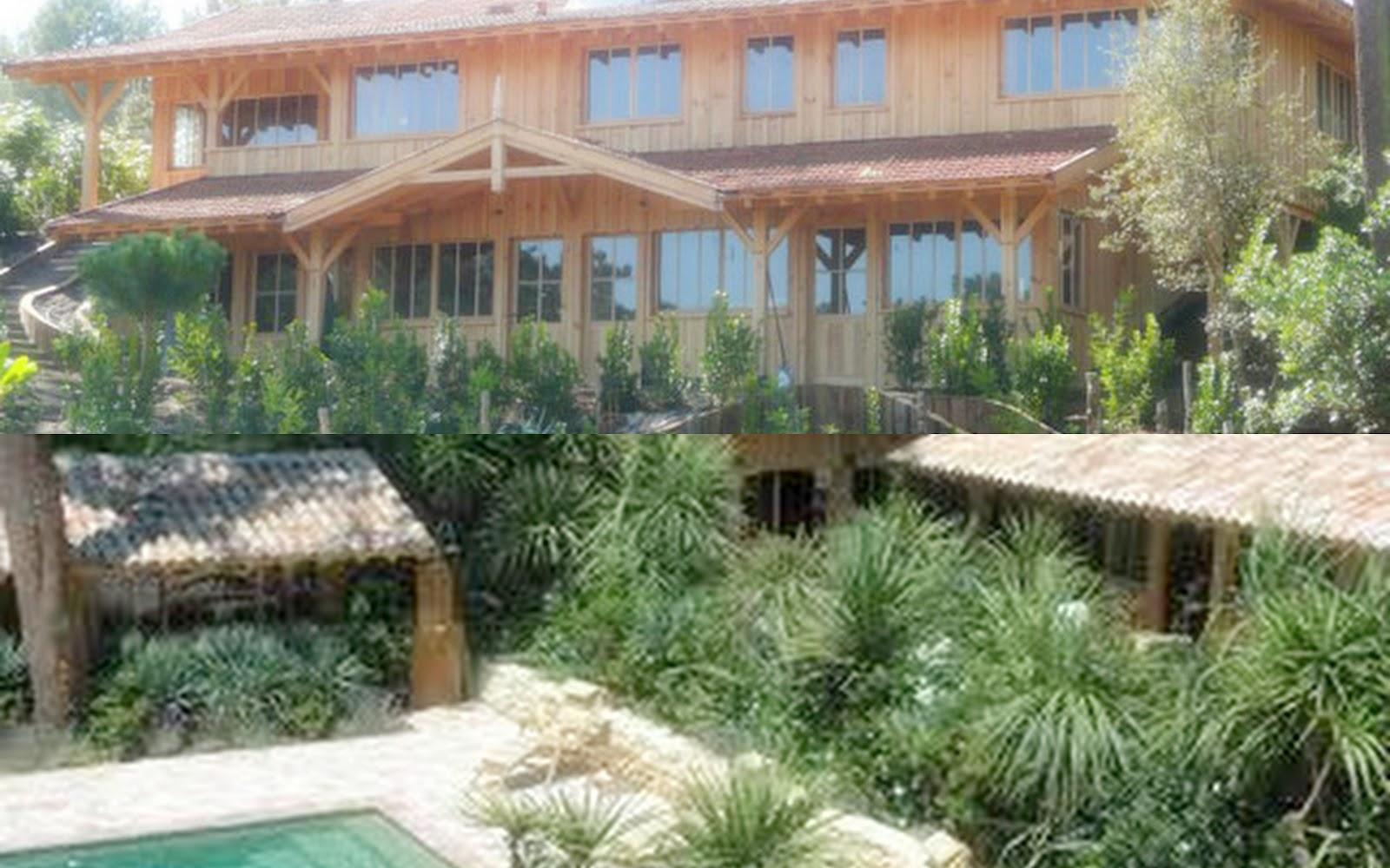 Maison du bassin la cabane duhortense with maison du for Restaurant le jardin du cap