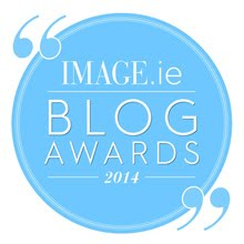 I've been shortlisted for an Image.ie Wildcard blog award! Wooo! Please vote for me!