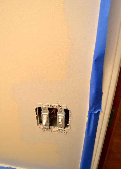 painting edges painter's tape
