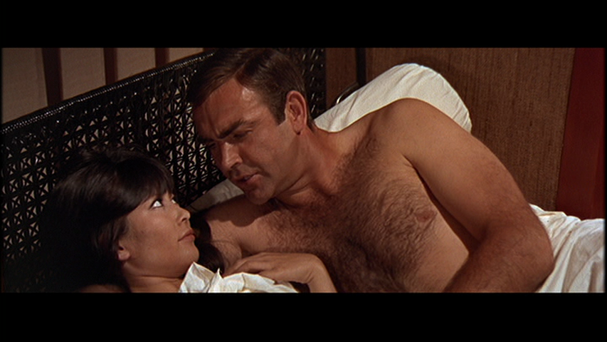 james bond naked scene