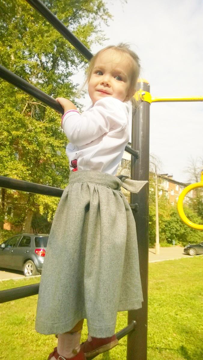 юбка на девочку 3 лет