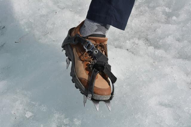 Kennicott Glacier crampons