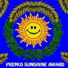 Blog premiado con un Sunshine Award 2.011