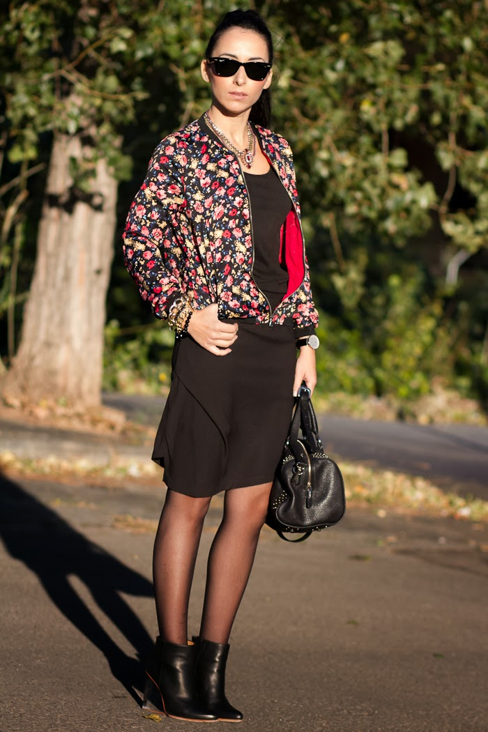 Streetstyle Asymmetrical skirt Lady Look