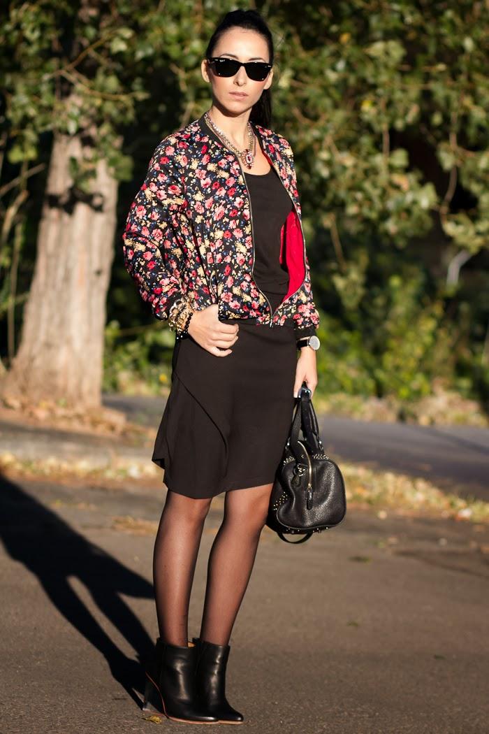 Streetstyle Asymmetrical skirt Lady Look