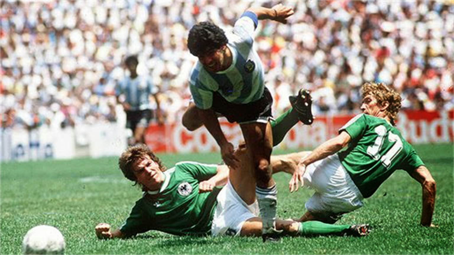 Frezague74 mundial mexico 86 campeon argentina for Ditmar jakobs