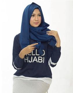 Tutorial Hijab Satin - Langkah 3