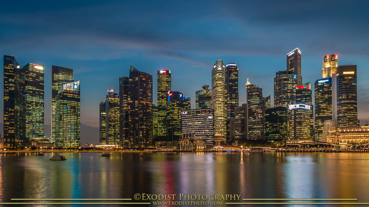 Singapore Waterfront, © Exodist Photography
