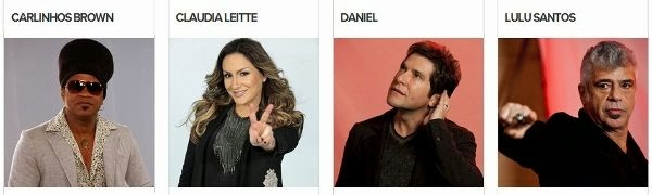 Times do The Voice Brasil 2013