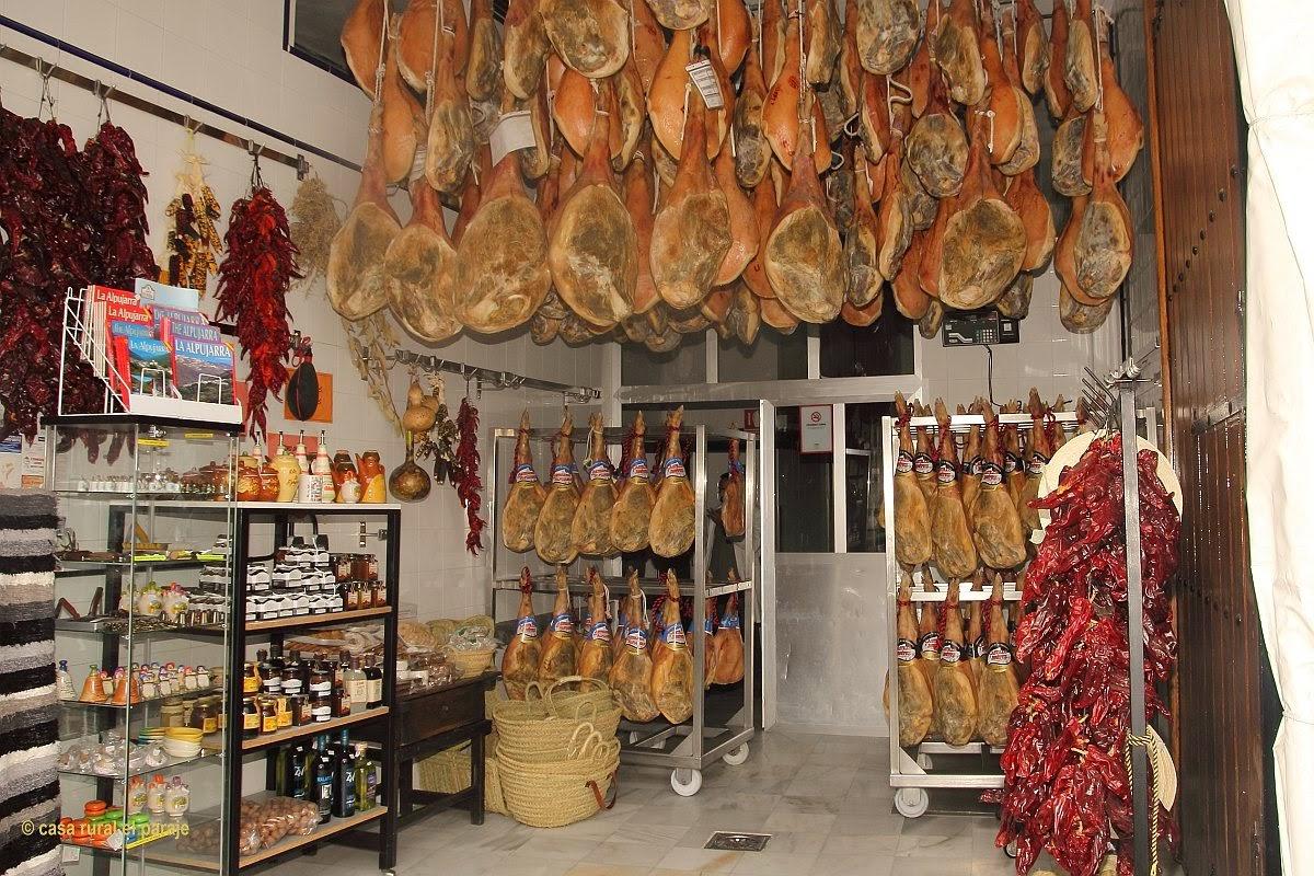 cured ham of Trevélez