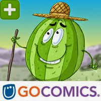 Click BELOW and follow the Melon on GoComics!
