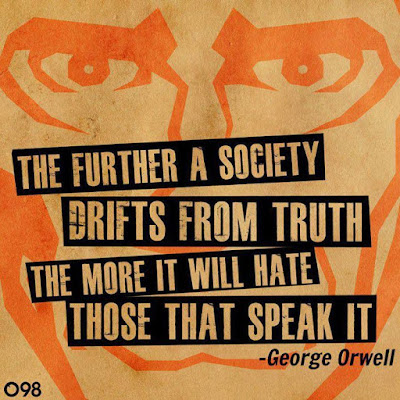George Orwell on Societies Which Hate the Truth