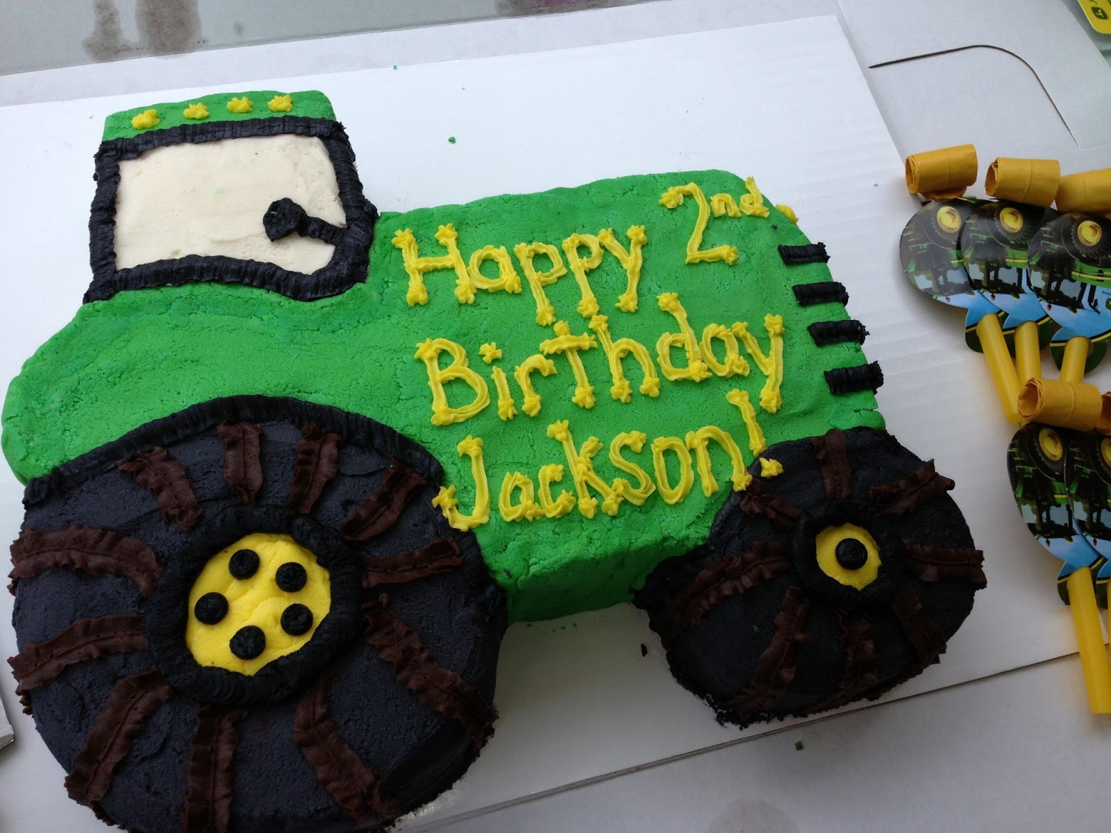 Learning Curve How To Have A John Deere Birthday Party