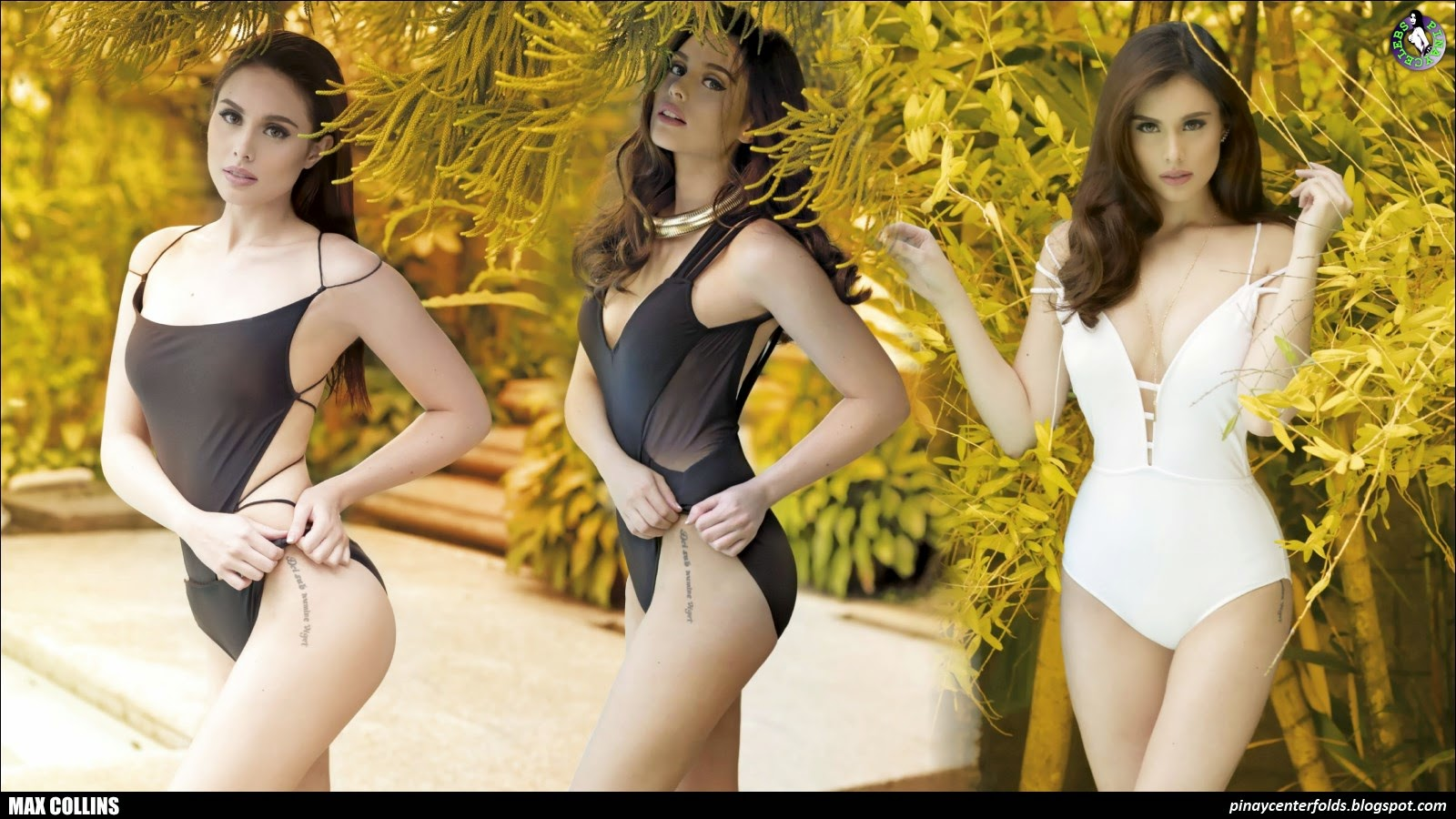 Max Collins In FHM 2