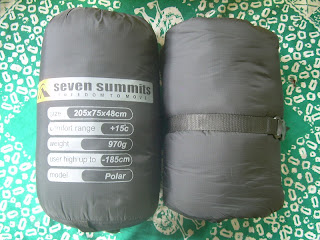 Sleeping Bag Seven Summits