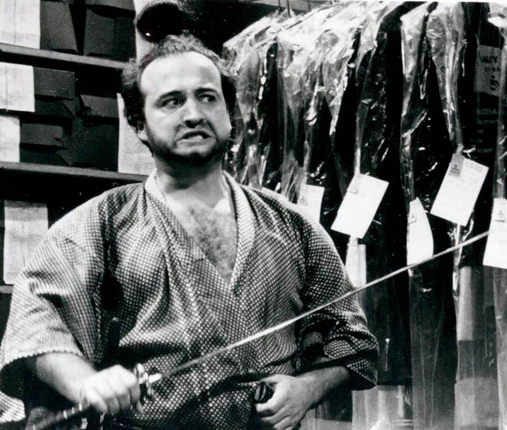 John Belushi as Samurai Futaba John Belushi Samurai