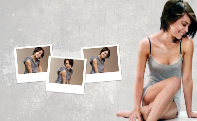 Kristin Kreuk Actress Wide Wallpaper