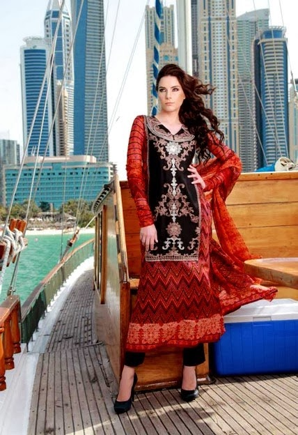 Feminine Lawn Prints by Shariq