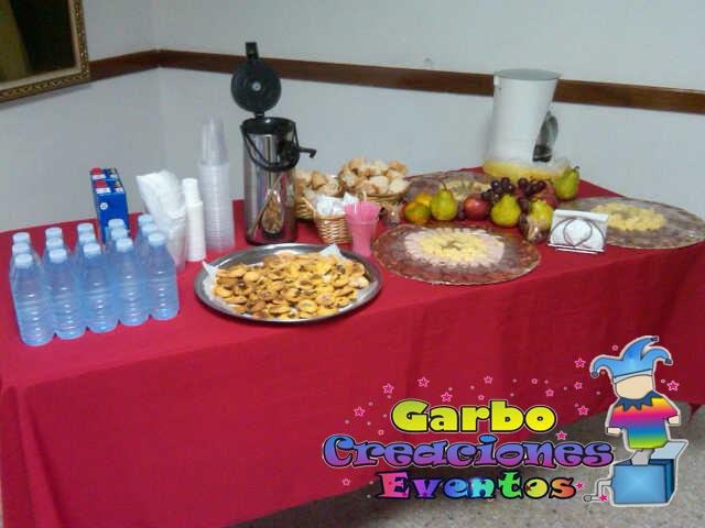 Garbo creaciones mesas de desayunos y coffe break - Mesas de desayuno ...