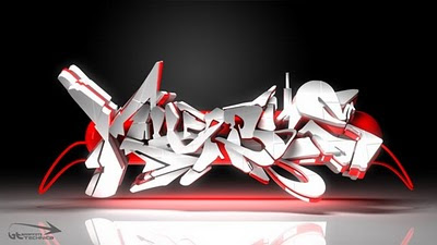 graffiti 3d,3d graffiti letters