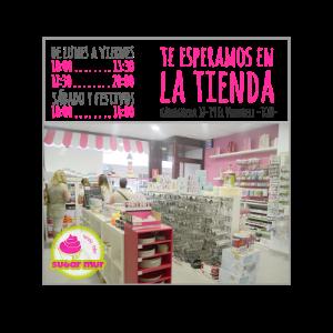 La tienda...