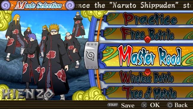 Naruto Shippuden Ultimate Ninja Heroes 3 SS 4