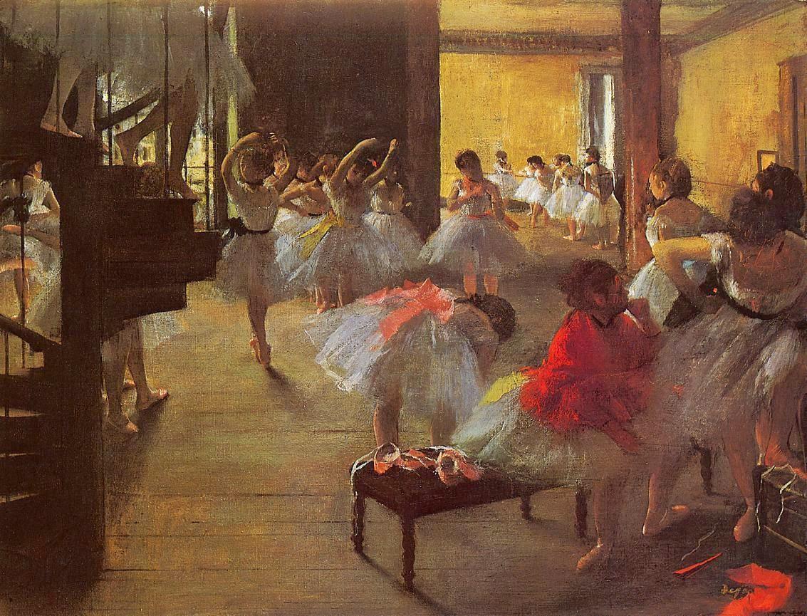 Essay dance class edgar degas