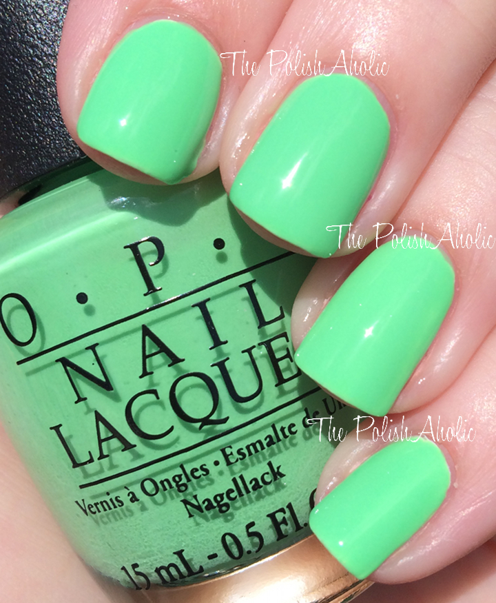 The Neons By OPI Collection Will Be In Stores This Month Each Polish Retails For 9 1095 CAN
